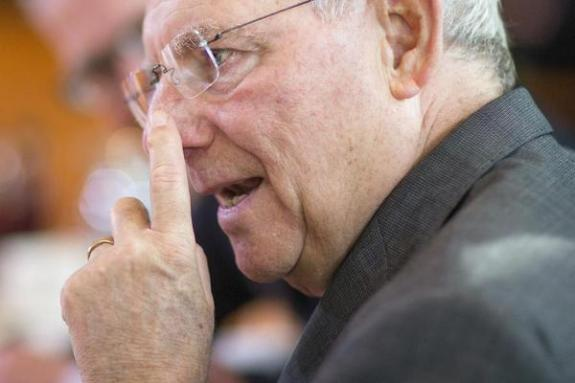 Schäuble Finger