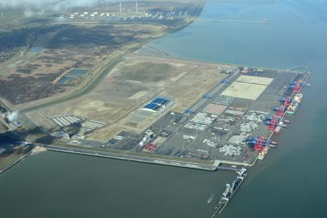Jade-Weser-Port Luftbild