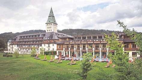 Schloss Elmau Ansicht