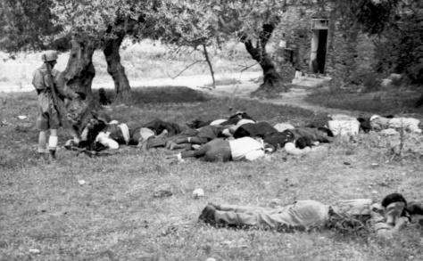 Griechische Zivilisten auf Kreta ermordet